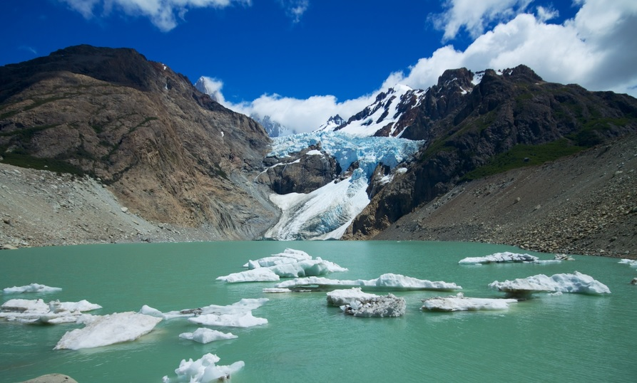 The glaciers of Patagonia are a must on a tour of South America